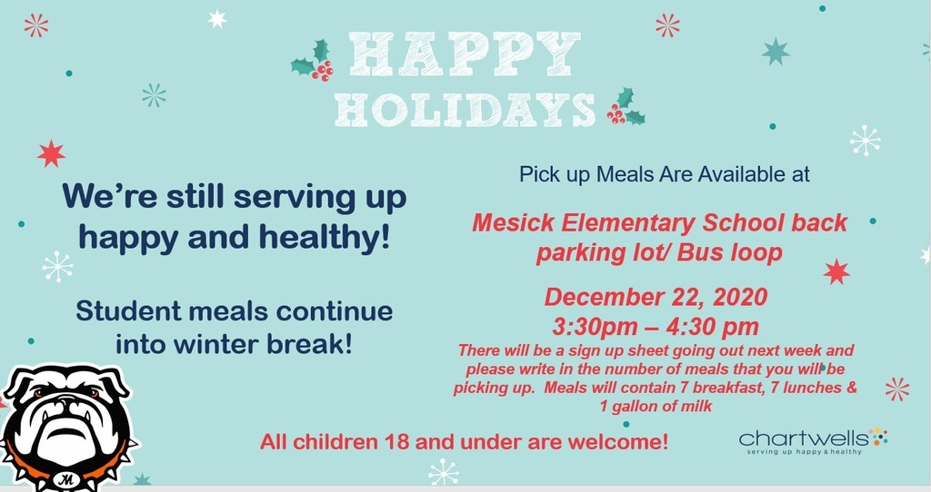 Holiday Meal Flyer