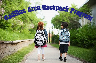 Cadillac Area Backpack Program