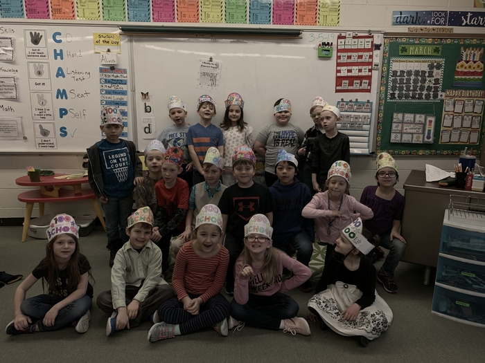 Mrs. MacEachern's class is 100 days smarter today!!
