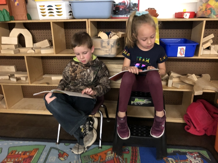 Buddy reading!