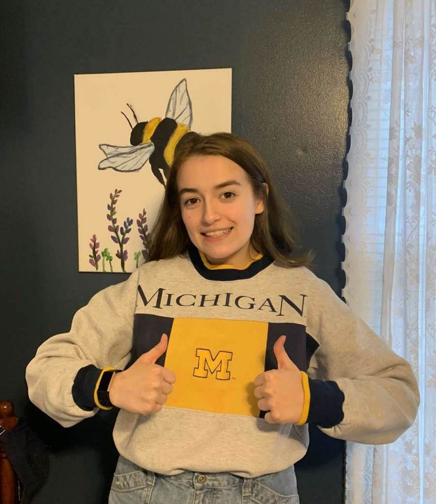 Stella - U of M - #decisionday