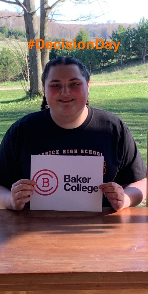 Alexis-Baker College - #decisionday